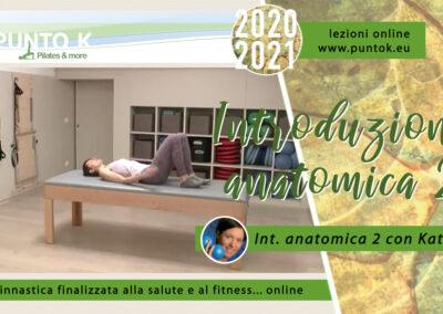 Introduzione anatomica –  parte 2 15 min